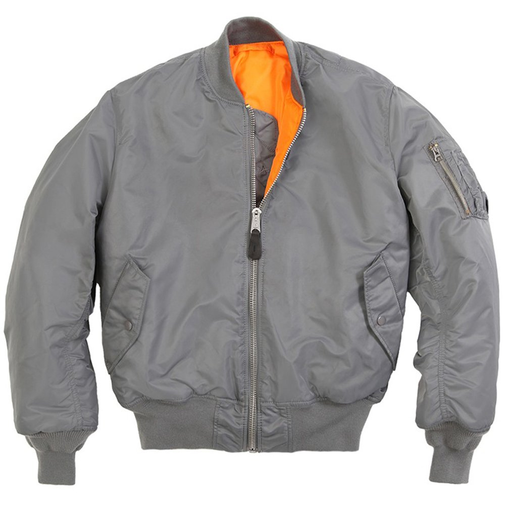 Modeled after the issued textile flight jackets that started to see service in