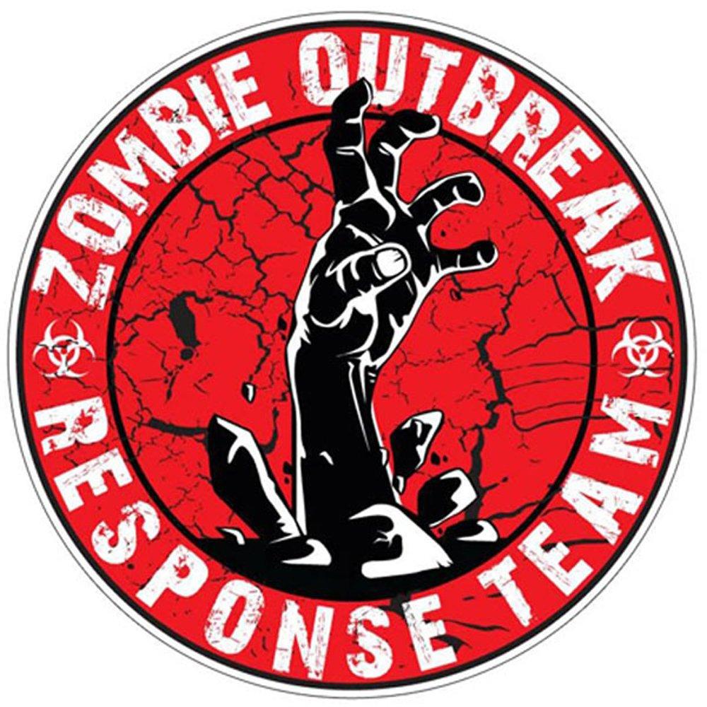 Zombie Outbreak Response Team Red Sticker