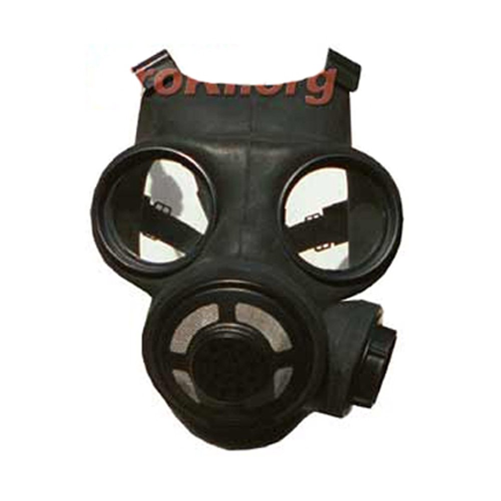 Canadian Black Gas Mask