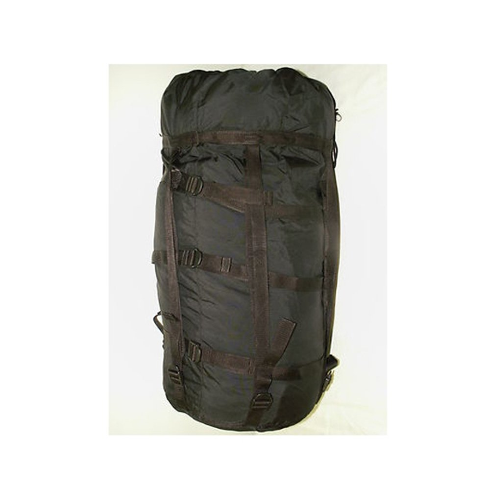 Surplus Compression Stuff Sack Black 9 Strap Sleeping Bag