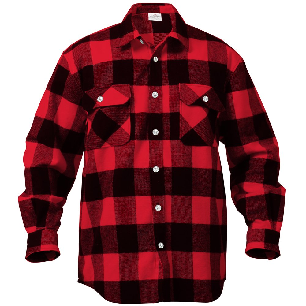 Mens red buffalo plaid flannel shirt sweater jeans and boots for Buffalo plaid men s shirt
