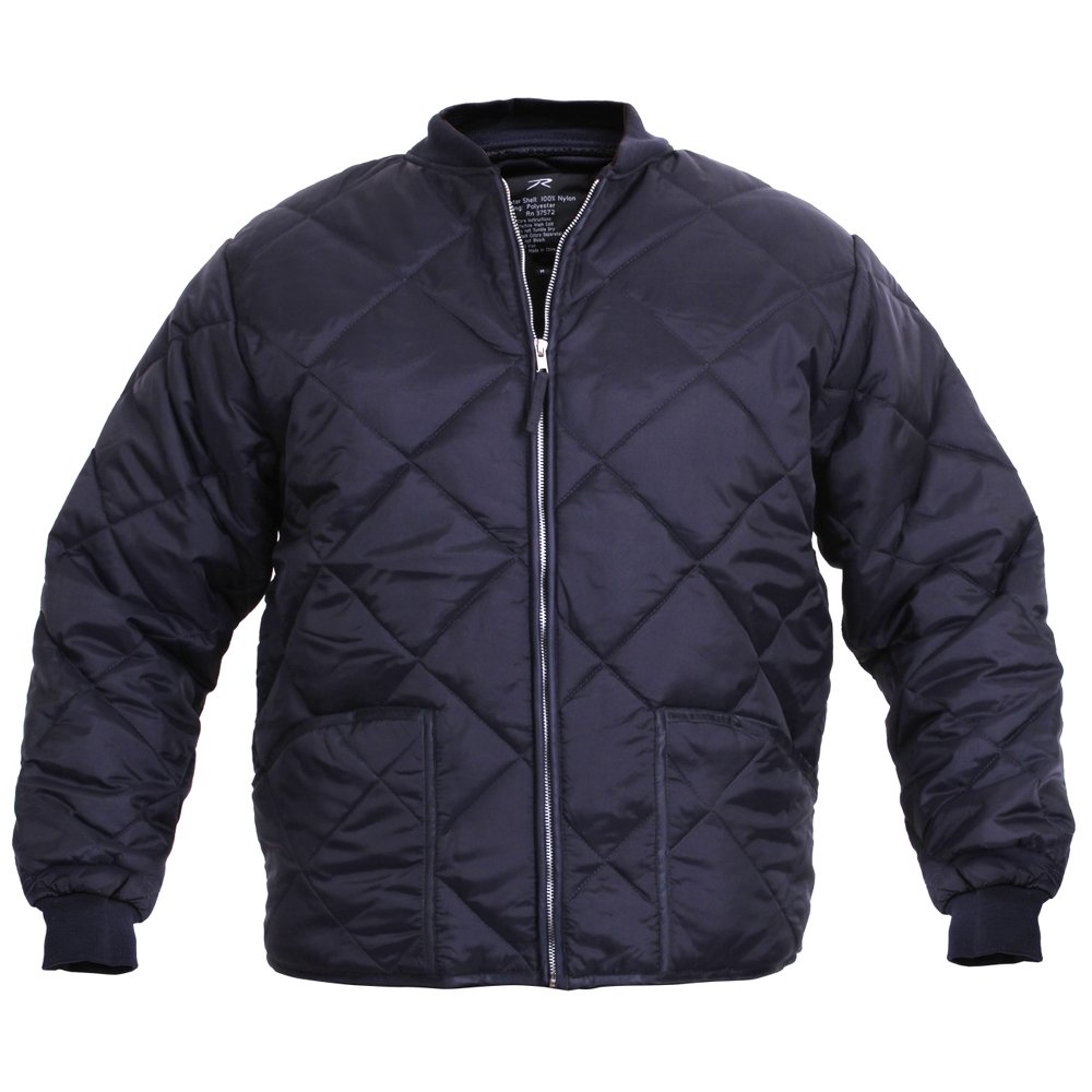 The jacket's durable poly/cotton lining, Nylon taffeta diamond quilting with polyester fill and gray jersey knit backing makes this functional jacket as comfortable as they come. A rib knit collar, cuff and back-waist along with generous hand warmer pockets enhance the relaxed fit of this tough piece of performance wear/5().