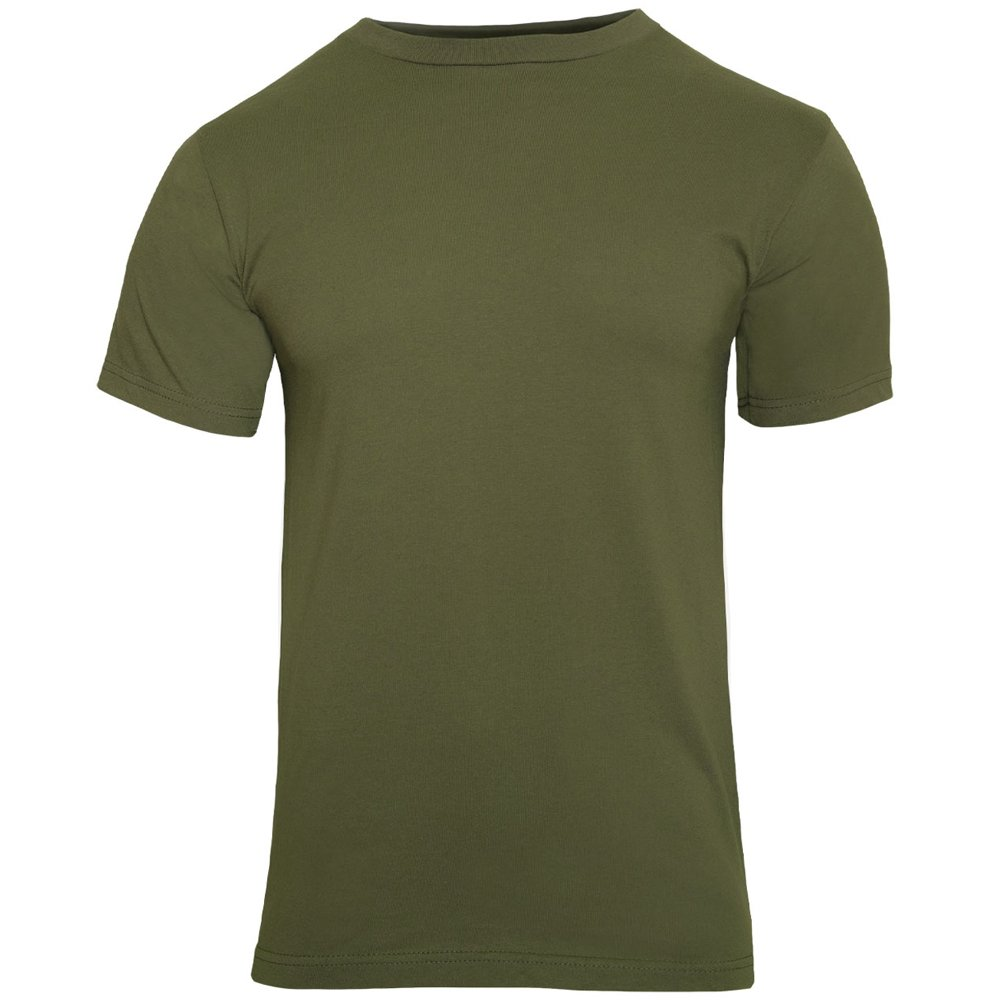 Soffe Men's Classic Cotton T-Shirt T shirts are soft and comfortable. Good colors. A minor nit -- the collar tag irritates the neck. No problem cutting it off, but Soffe may want to consider printing the tag like many clothing manufacturers are doing now.4/5().
