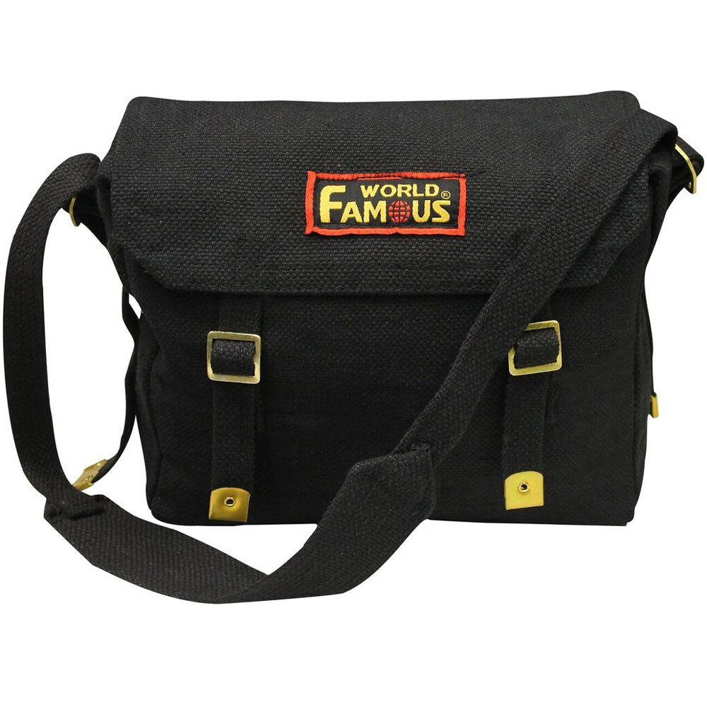 World Famous Canvas Messenger Bag Canada | Gorilla Surplus