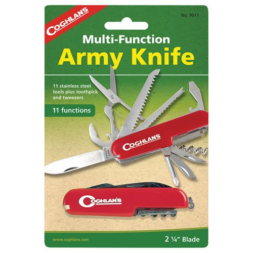 Coghlans 9511 11 Function Army Knife