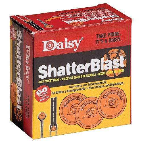 Daisy Shatterblast Targets 2 Inch Box 60 Pack
