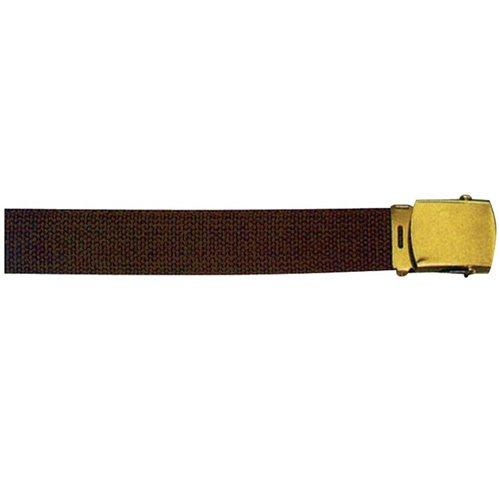 brown 54 size web belt